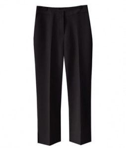 <br> Hem slit Straight Slacks <br><br>