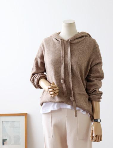 <br> Stone Hood Knit <br><br>