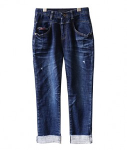 <br> Waist Baggy Rollup napping Denim <br><br>