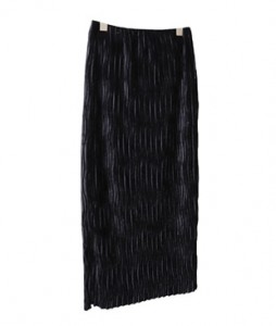<br> Velvet Wrinkles Banding Sheep Skirt <br><br>