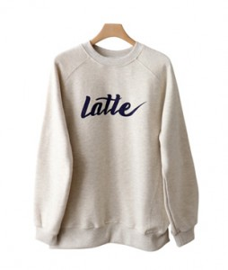 <br> Latte napping Man to man Tee <br><br>