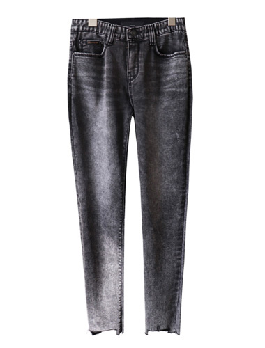 <br> Washing gray unique cutting Jeans <br><br>