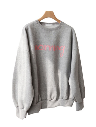 <br> Morning napping Man to man Tee <br><br>