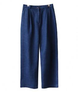 <br> Wrinkles Denim Tong Pants <br><br>