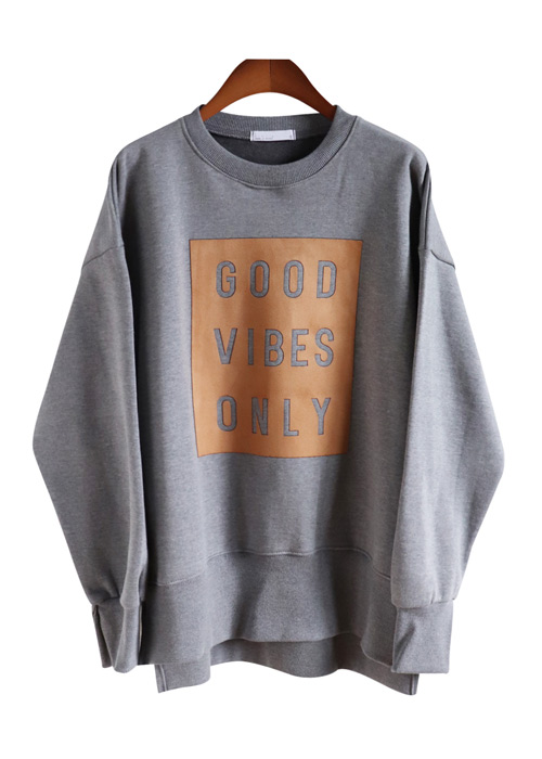 <br> Vibe Suede napping Man to man Tee <br> [restock]