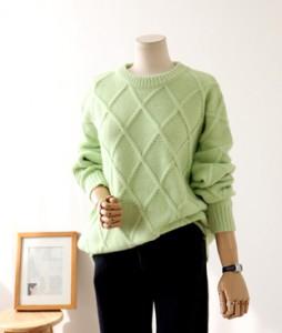 <br> diamond weave Knit <br><br>