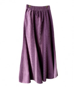 <br> Corduroy Mermaid Banding Skirt <br> <b><font color=#253952>Skirt second place product</font></b>