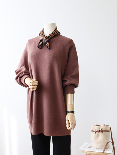 <br> Natural Hotch Round Knit <br><br>