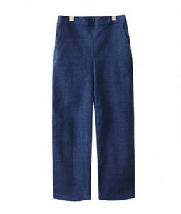 <br> Rear Bending Denim napping Tong Pants <br><br>