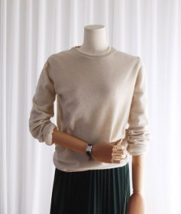 <br> bound Cashmere knit <br><br>
