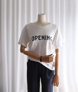 <br> Nano opening T-shirt <br><br>