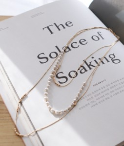 pearl 3, necklace <br>