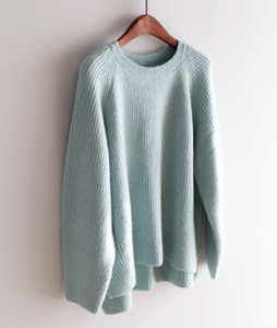 [Limited quantity! 20% off!] Carat Round knit <br>