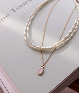 pearl 2,necklace <br>