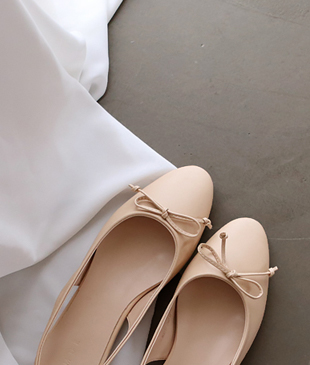loamy bowknot shoes <br>