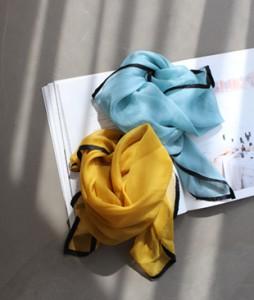 Blie line scarf <br>