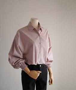scott cotton blouse [Pink] <br>
