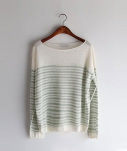 Paris Stripe knit <br>