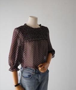Mim line[613] blouse <br>