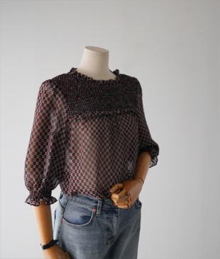 Mim line [613] blouse <br>