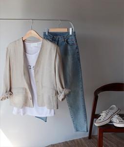 Gig Linen [625] jacket <br>