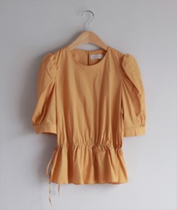 Diling Shirring [668] blouse <br>