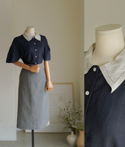 Salt Linen[864] blouse <br>
