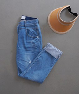 Hain Rollup[023] denim pants <br>