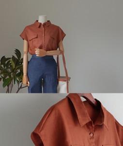 Byni Linen[359] blouse <br>