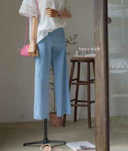 Bean wide[480] pants <br>