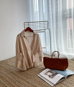 Glam string[999] blouse <br>