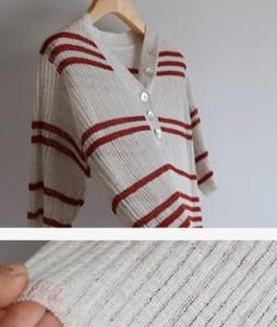 Shell v knit[146] tee <br>