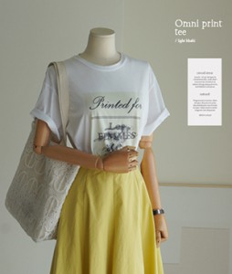 Omni Print[949] tee <br>