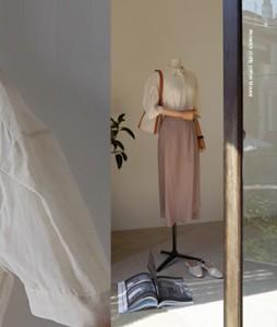 Clotty cotton[101] blouse <br>