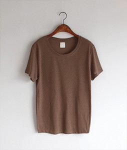 <FONT color=#d8a4a4>[50% Accompanying Sale!]</font> Folunm Linen[884] tee <br>