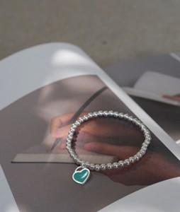 Heart Silver[023]bracelet <br>