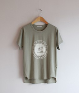 Palm Cotton[178] tee <br>