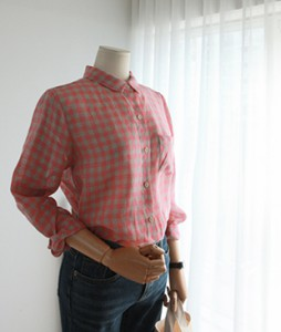 Stopia checked linen[177] shirts <br>