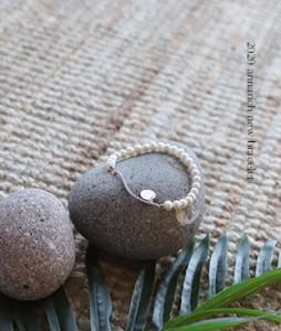 Cubi pearl[240]bracelet <br>