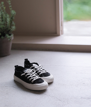 Day stitch[645] sneakers(Black)<br>