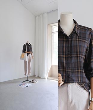 Zi Check[777] shirts<br>