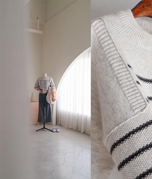 24000Kirza Stripe[067] knit<br>