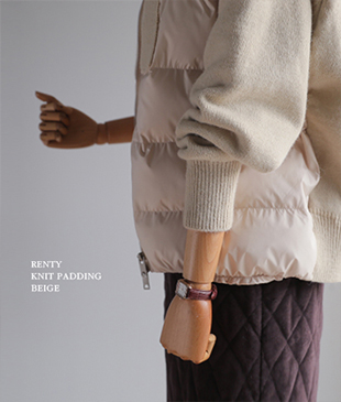 [Bag set composition] Renty Knit[498] padding<br>