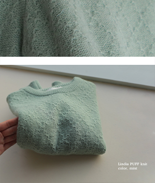 Lindia Puff[512] knit<br>