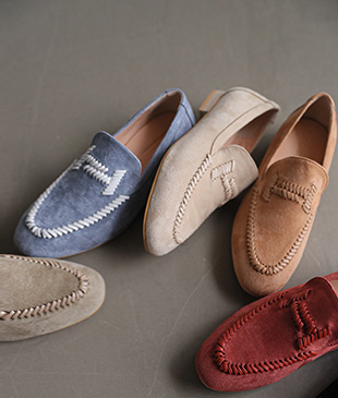 Henry Stitch Suede[898] loafer<br>