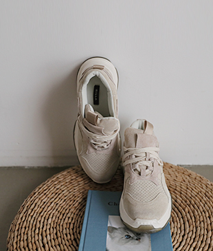 Elly leather [052] sneakers<br>