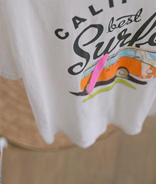 Surfer cotton 52 tee<br>