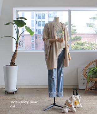 Monia Boxy40 shawl<br>