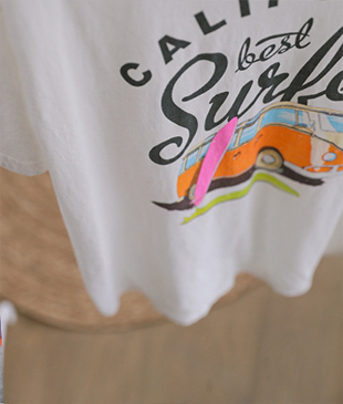 Surfer cotton 52 tee<br>