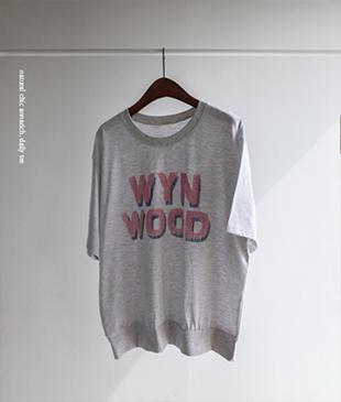 Wyn cotton 29 tee<br>